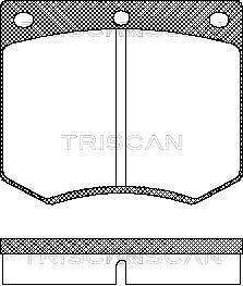 TRISCAN Bremseklodser
