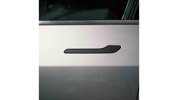 Tesla Model 3 / Y Chrome Delete Dørhåndtag (Satin Sort)