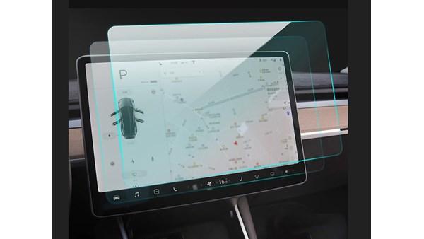 Tesla Model 3 / Y Skærmbeskyttelse (Blank)