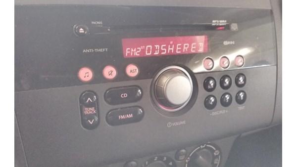 RADIO, SUZUKI SWIFT (05-10)