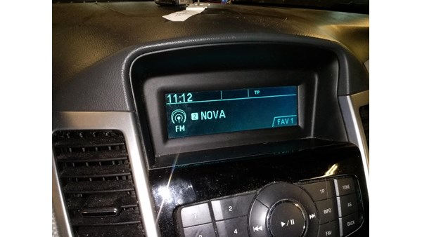 RADIO, MULTI DISPLAY, CHEVROLET CRUZE (08-12)