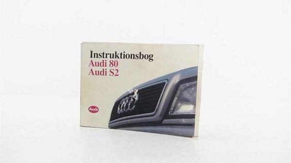 INSTRUKTIONSBOG, AUDI 80 8C 92-00