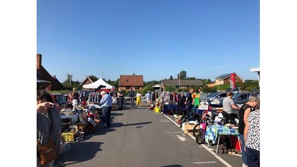 Bagagerumsmarked i Svendborg