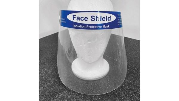 Face Schield Ansigtsvisir med polstret pandebånd