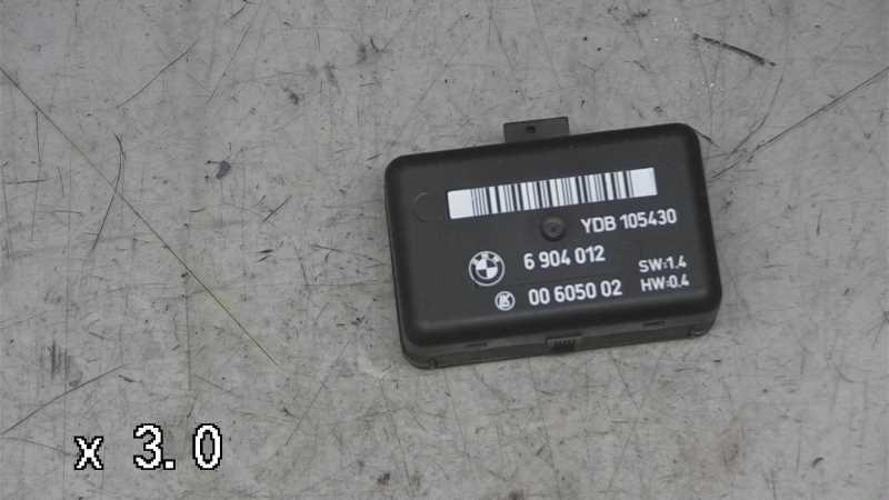 RELÆ VISKER, BMW 5 E39 95-03