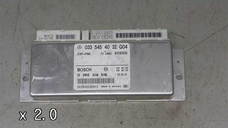 ABS ELBOKS, MERCEDES E W211 02-09