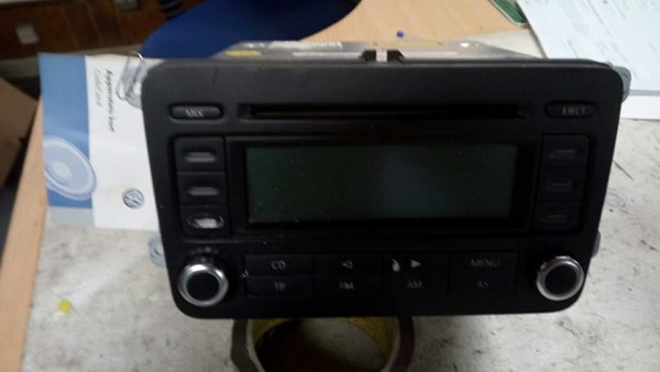 RADIO MED CD, VW TOURAN 1T 03-10