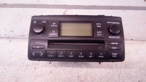 RADIO MED CD, TOYOTA COROLLA E12 02-07