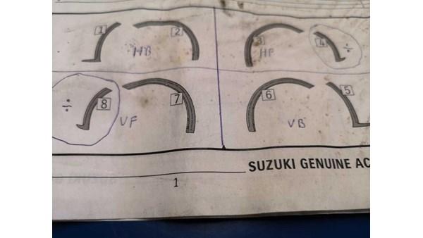 SKÆRMFORØGER, SUZUKI SWIFT 11 - 17