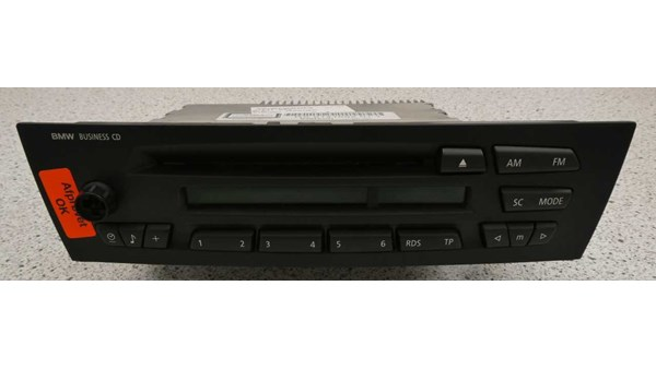 RADIO MED CD, BMW 1 E81/82/87/88 04-11