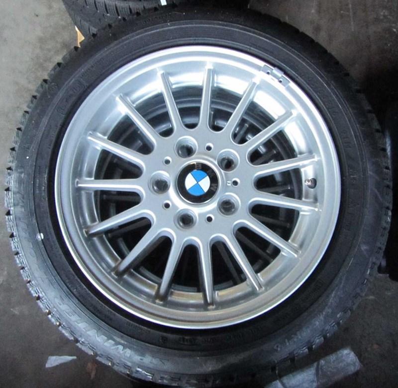 FÆLGE M/VINTER DÆK, BMW 3 E90/91/92/93 05>