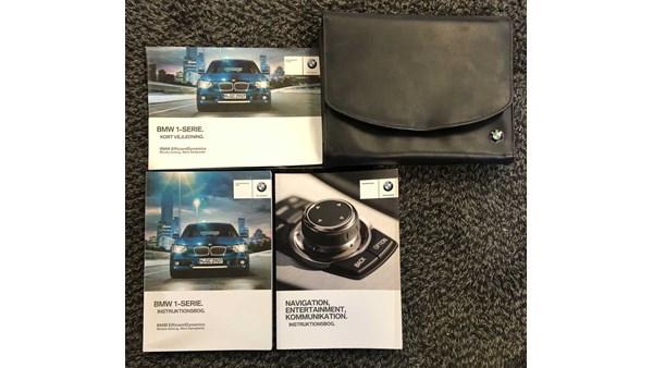 INSTRUKTIONSBOG, BMW 1 F20/21 11-18