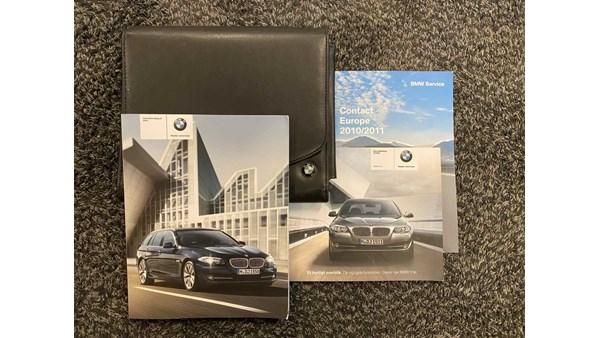 INSTRUKTIONSBOG, BMW 5 F10/F11 10>