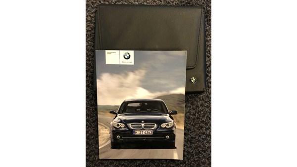 INSTRUKTIONSBOG, BMW 5 E60/61 04-10