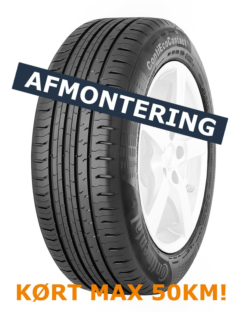 Continental EcoContact 5 185/55-15 86H XL - Afmontering