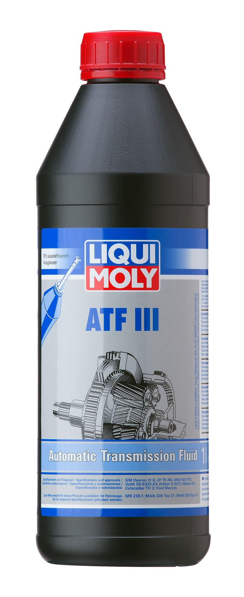 LIQUI MOLY Auto;atgear-olie   ATF III