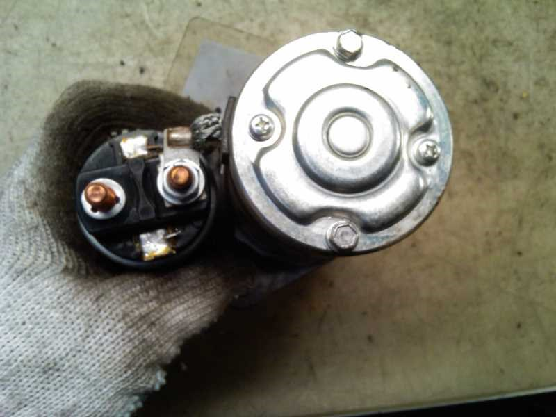 STARTER, SUZUKI SWIFT 05-10