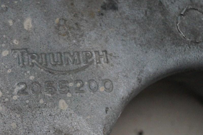 TRIUMPH DAYTONA 595 BAGGAFFEL