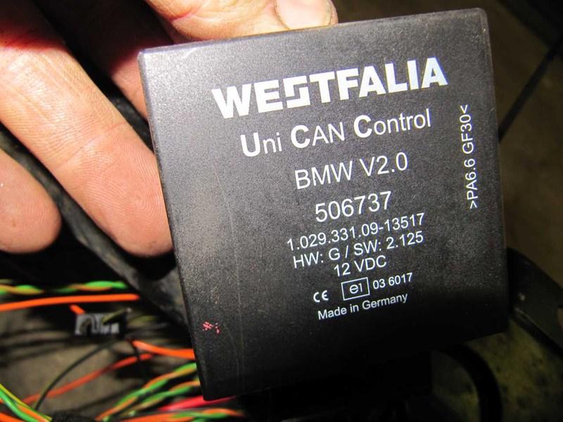 WESTFALIA ANHÆNGERTRÆK AFTAGELIG, BMW 5 F10/F11 10>