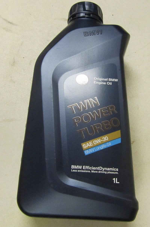1liter BMW  motorolie   Twin Power Turbo 0W-30 longlife