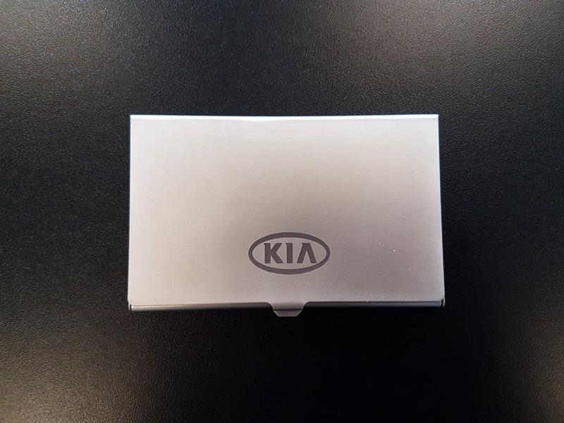 Kortholder med KIA logo